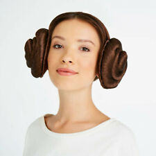 Disney Store Star Wars Princess Leia Hair Headband Buns Cosplay Costume DressUp