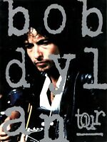 BOB DYLAN 1992 THE NEVERENDING TOUR CONCERT PROGRAM BOOK BOOKLET / NEAR MINT
