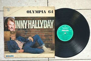 JOHNNY HALLYDAY OLYMPIA 64 LP 33T PHILIPS8 77 987 L