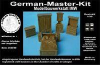 350048, Möbel Set No. 1, Schränke usw., Resin, 1:35, Diorama Zubehör GMK World