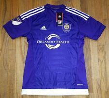 NEW Orlando City SC Lions MLS Soccer Jersey Mens Small Purple Adidas S NWT RARE