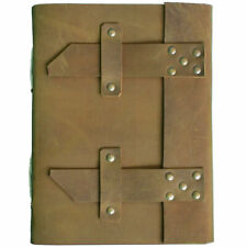 Genuine Leather Handmade Paper Notebooks Or Journal Diary, Personal-Professional