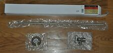 """New Nib Lincoln Toilet Supply Kit Brushed Nickel 138952 5/8""""C x 3/8""""C Angle Stop"""