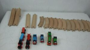 Thomas The Tank Engine Wooden Trains With Track Playset Assorted Bundle S160