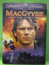 MacGyver - The Complete Seventh & Final Season (Dvd, 2006, 4-Disc Set)