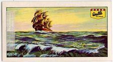 Wind Generated Ocean Sea Waves Vintage Ad Trade Card