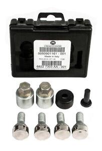 GENUINE Fiat Locking Wheel Nut Key Set 500L 500X Panda DOBLO