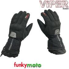Gants noirs textile pour motocyclette