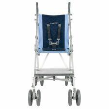 Maclaren Major Elite Transport Chair, Push Chair, Blue