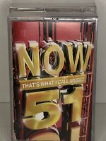 RARE ! Now Thats What I Call Music 51 Double Cassette Tapes. Original Now 51.