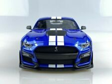 2020 FORD MUSTANG SHELBY GT500 BLUE MET 1:18 DIECAST MODEL CAR BY MAISTO 31388