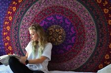 Hippie Mandala Bedspread Wall Hanging Dorm Room Decor Ethnic Bohemian Tapestry