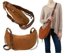 NWT Hobo Orion Leather Crossbody Shoulder Bag w/ Dust Bag Tobacco $338