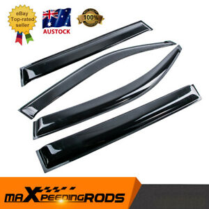 4pcs Weathershield Weather Shield Window Visor Fit Nissan X-Trail T31 SUV 07-13