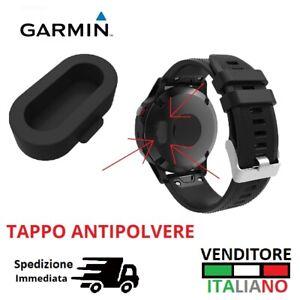 Caps TAPPO ANTIPOLVERE per GARMIN SWIM 2 VENU INSTINCT copri ricarica charger