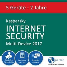 Top ANGEBOT Kaspersky Internet Security 2017 5user