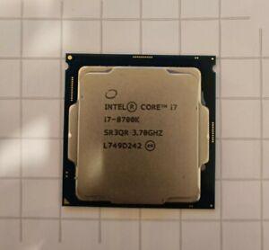 Intel Core I7-8700k LGA1151 3.7GHz Coffee Lake 95W CPU