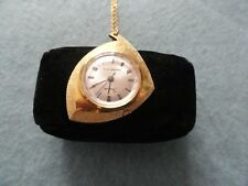 Vintage Mechanical Wind Up Swiss Made Sheffield Necklace Pendant Watch