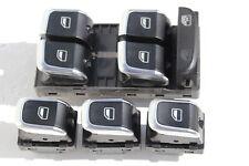 Pulsanti cromati AUDI A4 S4 A5 S5 Q5 pulsantiera interruttori tasti 8K0959851F