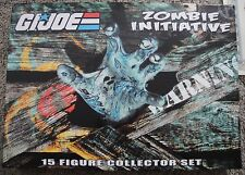 G.I. JOE ZOMBIE INITIATIVE JOECON EXCLUSIVE 50TH RARE BOX SET CONVENTION 2014