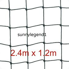 "Scrog Net 2.4m x 1.2m   50mm   2"" Mesh Hydroponics Grow Tent Plant Support"