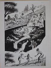 """THOMAS YEATES original art, Published, Underworld, 12""""x 16"""", Tom, Sign"""