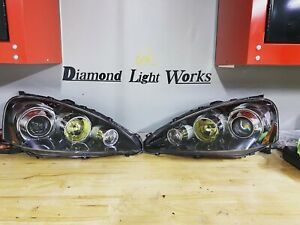 2005-2006 Acura rsx Custom Retrofit Headlights