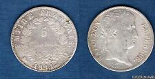 Ier Empire, 1804–1814 5 Francs Napoléon Ier 1811 Q Perpignan Revers Empire TB +
