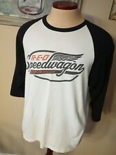 REO SPEEDWAGON 2014 Keep on Rollin' T-shirt Rock Pop 3/4 Sleeve