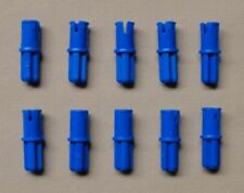 Lego 10 Blue technic pin with axle end NEW