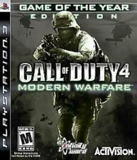 Call of Duty 4: Modern Warfare Game of the Year Edition PlayStation 3 PS3 ~ USED