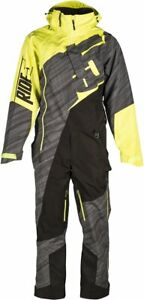 509 Allied Mono Suit For Snowmobiles and Snow bikes,  Black, Gray, Hi-Vis, 2XL