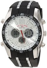 U.S. Polo Assn. Sport Men's US9061 Watch with Black Rubber Strap Watch, New