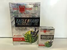 Eagle Brand Eucalyptus Medicated Oil 24 mL x 12 bottles Dau Trang Con O - 1 dz