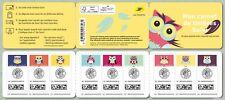 france 2020 My Tracked OWLS carnet suivis bird owl hiboux aves vogel 9v mnh BKLT