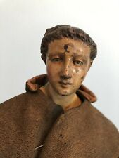 New listing Antique Italian 18th - 19th Century Crèche Figure St Francis Of Assisi