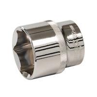 """Silverline 269129 Socket 1/2"""" Drive 6 Point Metric 32mm"""