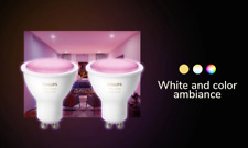 Philips HUE White & Color Ambiance GU10 Wireless LED Colour Light Bluetooth NEW