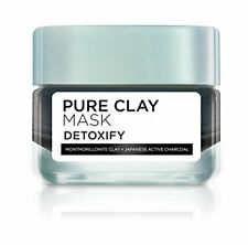 85d824bff53 L'Oreal Paris Pure Clay Clay Mask, Detoxify with Charcoal, 50 Gram free