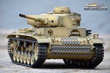 RC Panzer 3 Ausf. L 2.4 GHz Taigen mit Metallgetriebe Airbrush Lackierung 1:16