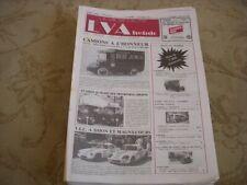LVA VIE de L'AUTO 86/40 11.1986 CAMIONS STOUT SCARAB ISOBLOC MUSEE TRANSPORTS UR