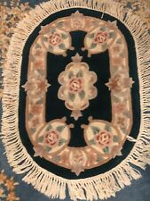 "24"" By 42"" Royal Palace Handmade 100% Wool, Excellent Condition"
