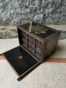 An Antique  Anglo Indian Table Cabinet