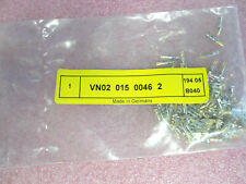 100 x  VN0201500462 Amphenol Tuchel Rundsteckverbinder DIN 20-22 AWG SKT GOLD