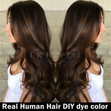 Real Natural Dark Brown Lace Front Wig 100 Brazilian Human Hair With Baby Hair V