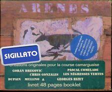 """COMPILATION  """" ARENES """" CD SIGILLATO MUSIQUE POUR LA COURSE CAMARGUAISE 2001"""