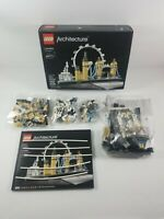 New Open Box LEGO 21034 Architecture London Great Britain Sealed Bags Skyline
