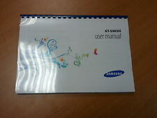 SAMSUNG GALAXY ACE GT- S5830i FULL PRINTED USER GUIDE INSTRUCTION MANUAL A4