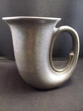 VINTAGE  RWP Wilton Armetale Pewter Horn Beer Stein Mug Tankard