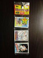1985 Topps Baseball Rack Pack Alan Trammell